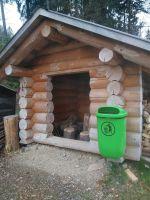 Spielhütte_Blockbau